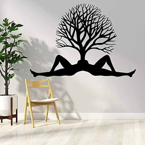Tianpengyuanshuai Schattige boom muursticker vinyl sticker woonkamer behang kinderkamer sticker muurschildering