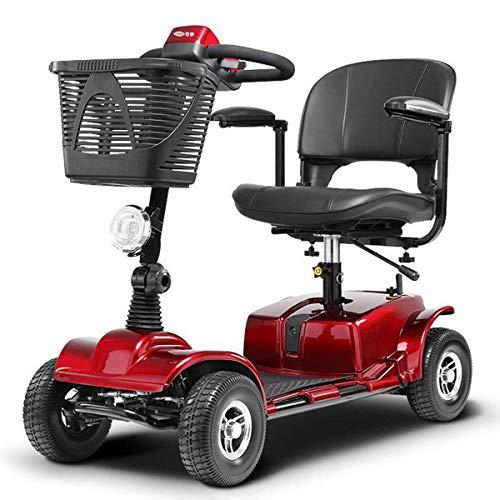 L.HPT Mini 4 Ruote Scooter Elettrico Intelligente Sedia a rotelle elettrica...
