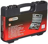 KS Tools 911.0653 - Maletín con llaves de vaso, destornillador y puntas (0,6 cm/0,25', 53 piezas)