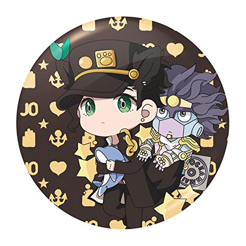 chengdushiErica Christy Bizarre Adventure Pin Badge Badge von Anime JoJo - 2020 NEU(9)
