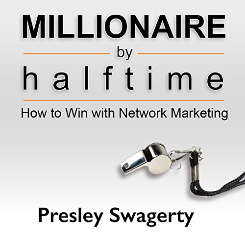 Millionaire by Halftime audiobook cover art