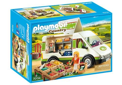 PLAYMOBIL Country Mercado Móvil, A partir de 4 años (70134)