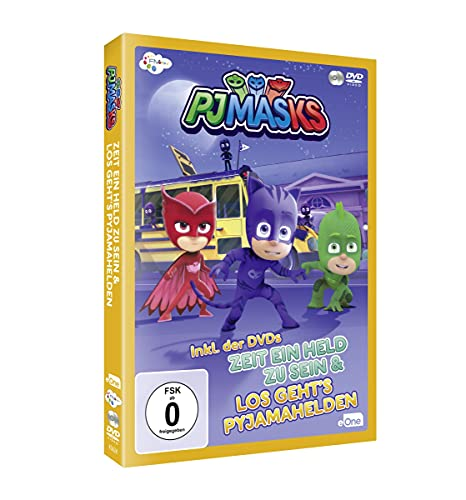 PJ Masks - Pyjamahelden Box 1 [2 DVDs]