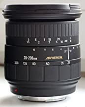 Sigma AF 28-200mm Aspherical f3.8-5.6 Zoom Lens for Minolta / Sony