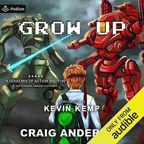 Grow Up Audiobook By Craig Anderson cover art