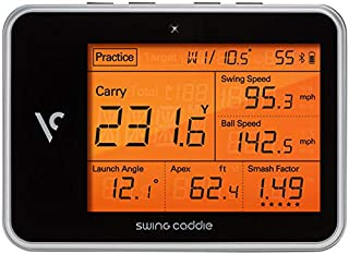 Swing Caddie New SC 300 VC Portable Launch Monitor with Remote Control & SC300 Doppler Radar Technology