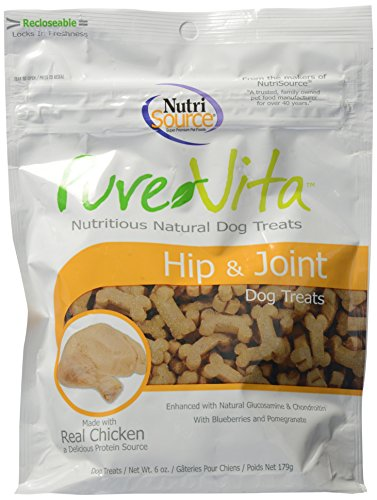 PureVita Hip and Joint Chicken 6 Ounce | Nutritious Natural Dog Treat