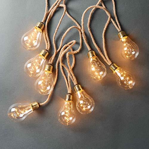Butlers Bulb Lights Glühbirnenlichterkette 10 Lichter