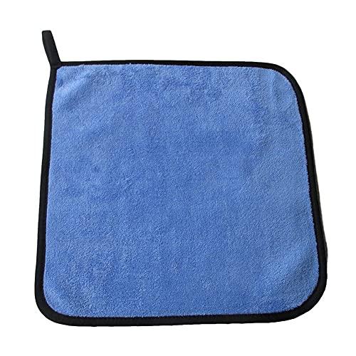 QWSNED Toallas,Paño de limpieza de microfibra súper absorbente,Toalla absorbente de fibra superfina,Cuidado de lavado de coches,Toalla especial de limpieza de coches