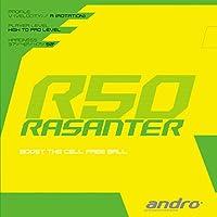 andro(アンドロ) 卓球 ラバー ラザンターR50 シリーズイチの回転量 112289 アカ(RD) 1.7