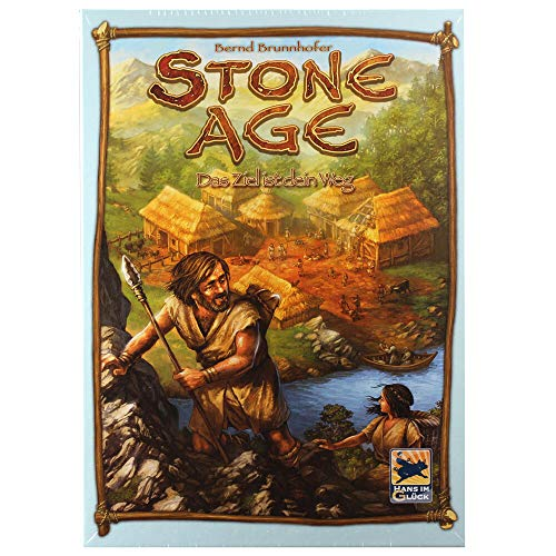 Asmodee Stone Age: Das Ziel ist dein Weg Brettspiel