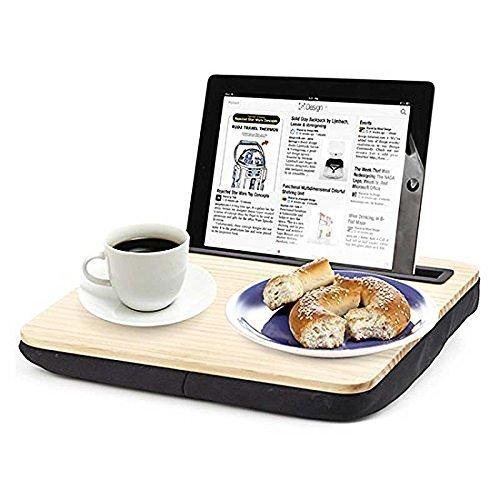 Wood iBed Tablet Holder Lap Desk