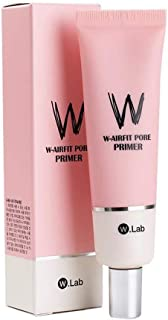 W.LAB W-Airfit Pore Primer 35g Face Makeup Primer, Big Pores Perfect Cover, Skin Flawless and Glowing