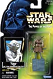 1997 Hasbro Star Wars The Power of the Force Yoda Green Card with Holographic Picture by Hasbro