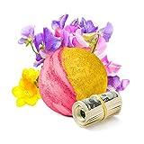 Cash Money Bath Bombs   Jumbo Size 7.5oz   $2-$2500 Inside   Guaranteed Rare $2 Bill   Large Mystery Surprise Gift   (Sweet Pea)