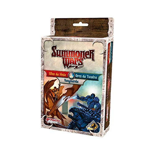 Elfos da Fênix vs Orcs da Tundra vs Vanguarda: Summoner Wars - Galápagos Jogos