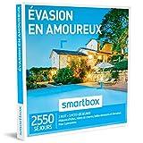 SMARTBOX - Coffret Cadeau homme femme couple - Évasion en amoureux - idée cadeau - 2550 séjours : 1 nuit • 1 petit-déjeuner pour 2