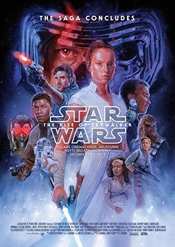 Lionbeen Star Wars The Rise of Skywalker - Movie Poster - Cartel de la Pelicula 70 X 45 cm. (Not A DVD)
