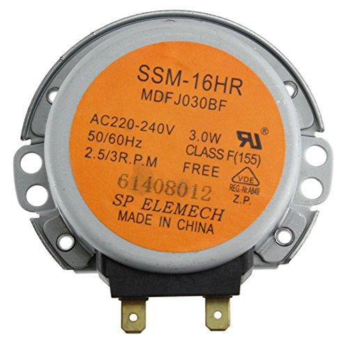 Samsung MC285TATCSQ MC28H5125AK Moteur de plateau tournant pour four à micro-ondes