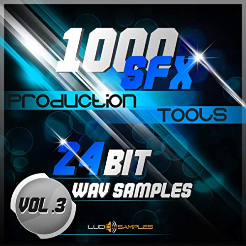 1000 SFX Production Tools Vol. 3 - Marvelous Sound Effects Pack | Apple Loops/ AIFF (24Bit) | DVD non Box