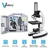 Best Microscopes Kids Microscopes - VANSTARRY 120X-1200X Kids Beginner Microscope STEM Kit Review