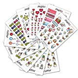 Starting Kit MIX PACK Small Kawaii Planner Stickers, Stickers for Life Planner, Erin Condr...