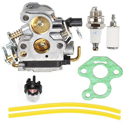 Anzac Carburetor Carb with Gasket for Husqvarna 235 235E 236 236E 240 240E Chainsaw Replace 574719402 545072601 Fuel Filter Spark Plug