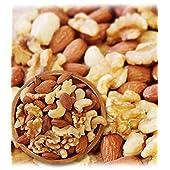 ミックスナッツ 3種類 1kg 徳用 生くるみ 40% アーモンド 40% カシューナッツ 20% 素焼き オイル不使用 無塩 無添加 【輸入1ヶ月以内の原料使用 正規輸入】 / 3G CARE