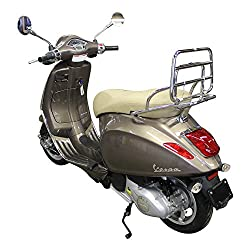 Electric Vespa scooter