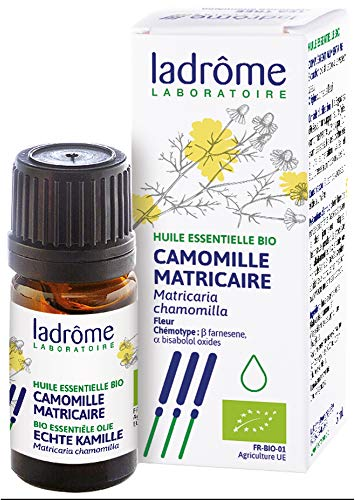 Ladrôme Huile Essentielle Camomille Matricaire Bio, 5 ml