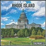 Rhode Island Calendar 2022: Official Planner Rhode Island Calendar 2022 - 2023 Monthly Weekly and Daily Rhode Island Calendar 2022 With Notes, 18 Month Square Rhode Island Calendar 2023