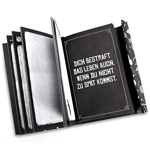 Pechkeks 2020 Magneto Diary - Taschenkalender - 10x15cm - Magneto Diary Small - Buchkalender - Wochenplaner - Humorkalender - Sprüchekalender