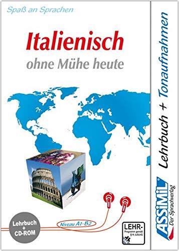 Italienisch ohne Mühe heute. Multimedia-PC. Lehrbuch + CD-ROM: Lehrbuch (Niveau A1 - B2)