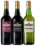 Krohn Ruby, Tawny & White Port Selection Gift Set