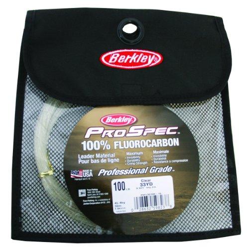 Berkley ProSpec 100% Fluoro Leader Mat, Clear - Coil, 33-Yard/100-Pound