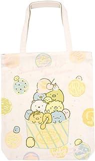 San-X Sumikko Gurashi Cotton Canvas Beach Tote Bag Ecobag Ice Cream Japan Import K-5410A