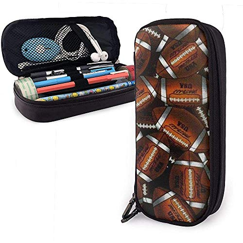 Eine Menge Rugby Pencil Case Pen Case Pencil Pouch Briefpapier Organizer Cosmetic Makeup Bag