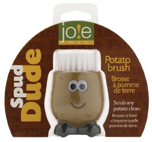 Joie Spud Dude Kartoffel-Bürste, Braun/Schwarz