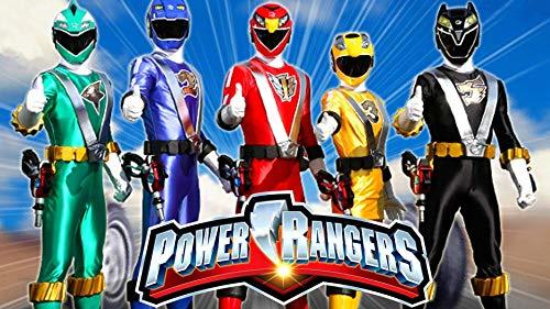 Power Rangers Tortenaufleger, Reckteckig A4 - Geburtstag Tortenbild Zuckerbild Tortenplatte Oblate Kuchenzuckerplatte