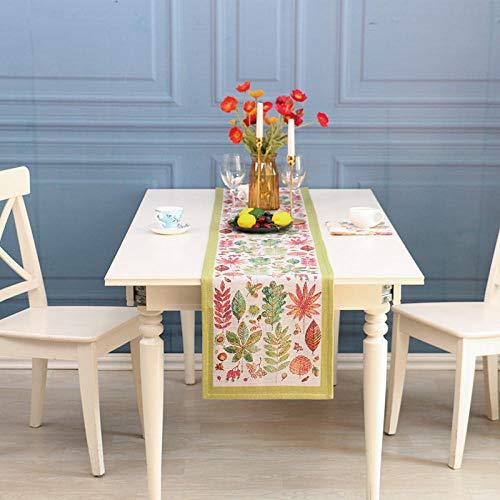 Branfan eenvoudige Scandinavische katoenen jacquard tafel Runners moderne pastorale placemats salontafel doek Europese tafelmatten-3_ tafellopers 35x200cm