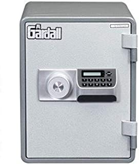 Gardall MS129-G-E w One Hour Vertical Microwave Style Fire Safe with Electronic Lock, Grey