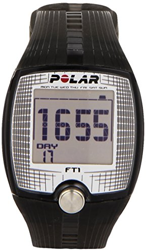Polar FT1 Black, Cardiofrequenzimetro Unisex, Nero,...