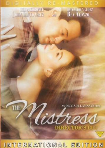 The Mistress (2012)-Director's Cut Filipino DVD - Bea Alonzo, John Lloyd Cruz