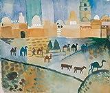 1art1 August Macke - Kairouan I, 1914 Poster Kunstdruck 70