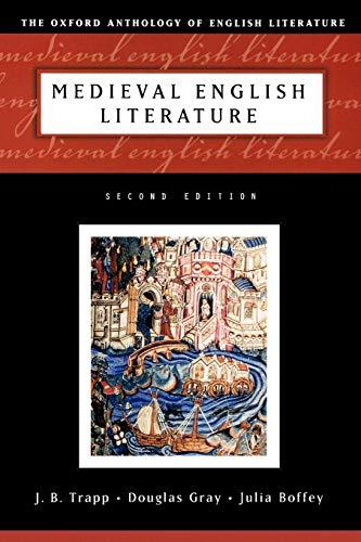 Medieval English Literature (Oxford Anthology of English Literature)