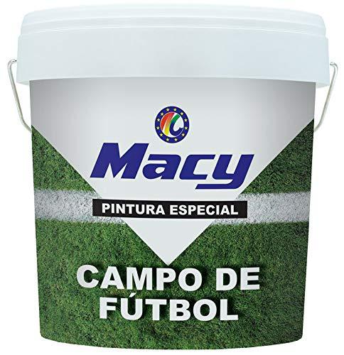 Pintura Especial Campo de Fútbol para Exterior. 15 Litros. Color Blanco