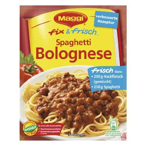 MAGGI fix & fresh spaghetti bolognese (Spaghetti Bolognese) (Pack of 4)
