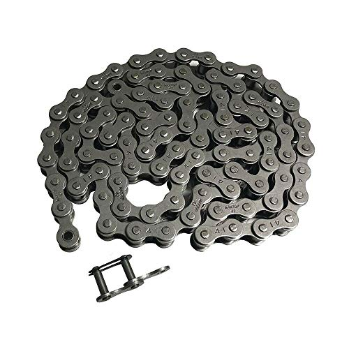 Fantastic Prices! #41 Roller Chain 4 FT Length w/Master Link Kit