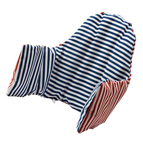 Baoblaze Zitverkleiner Kussen Zitkussen Zitkussen voor Trap Hoge Stoel Kinderstoel Kinderstoel - blauw