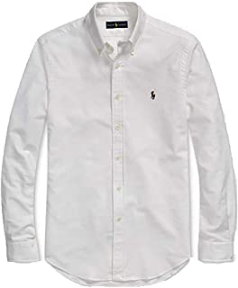 Polo Ralph Lauren Mens Classic Fit Oxford Longsleeve Buttondown Shirt